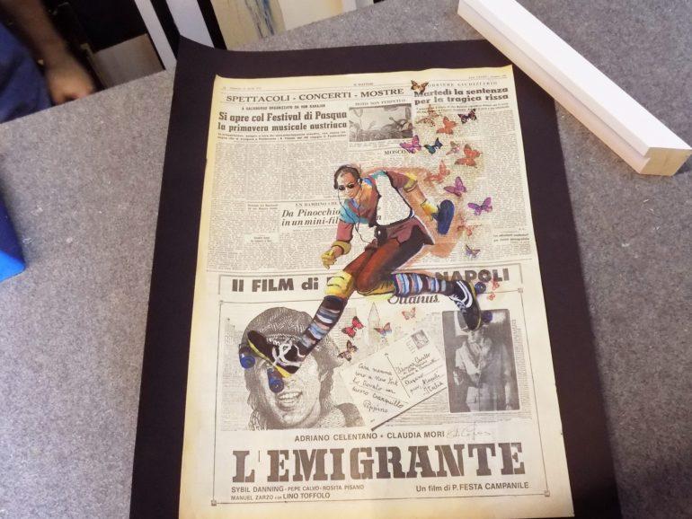 Cornici bianche per lo stile vintage di carlo capone with for Cornici bianche
